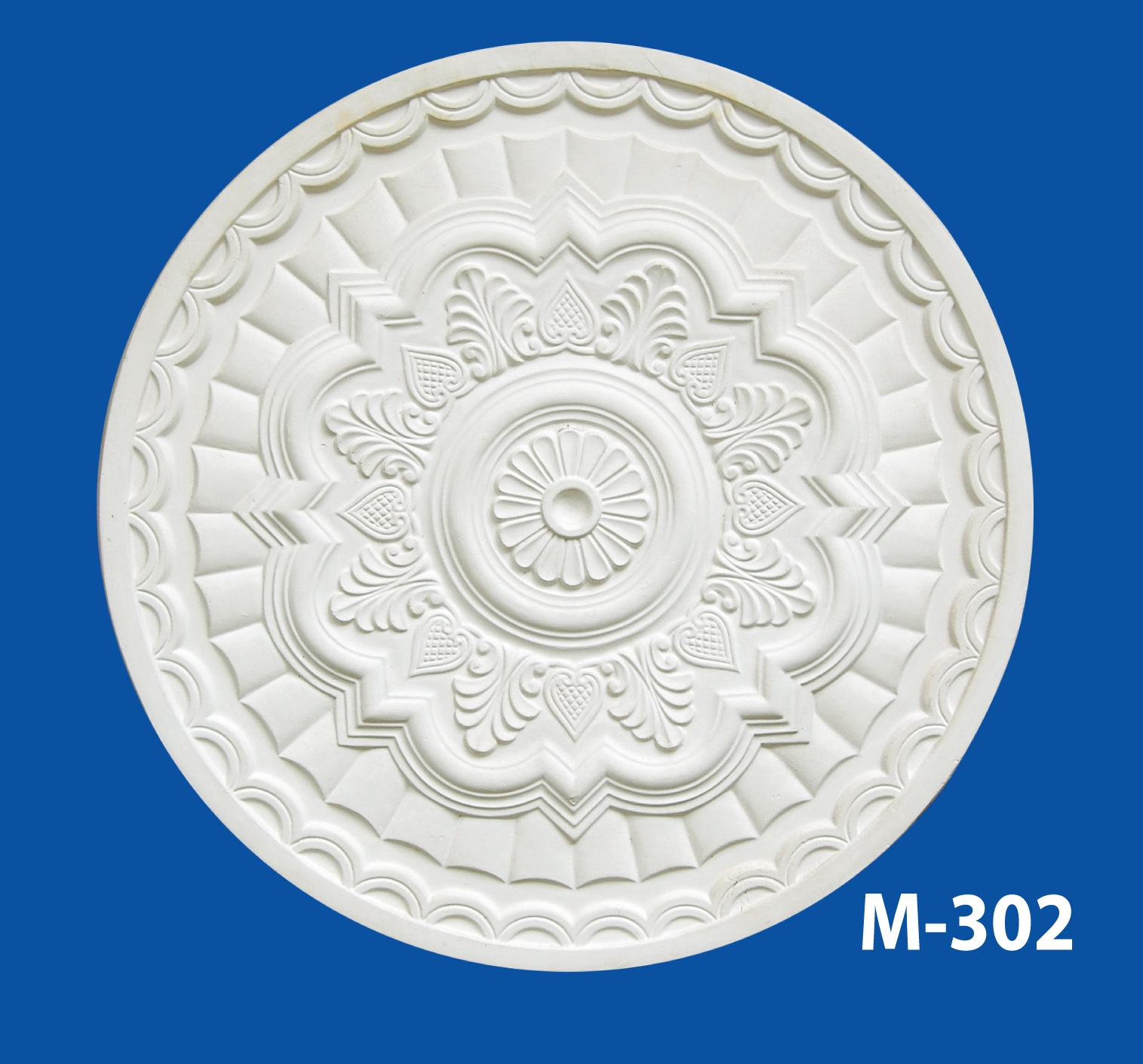 M-302 Gypsum Products Plaster Ceiling Gypsum Cornices Plaster Ceiling Mala