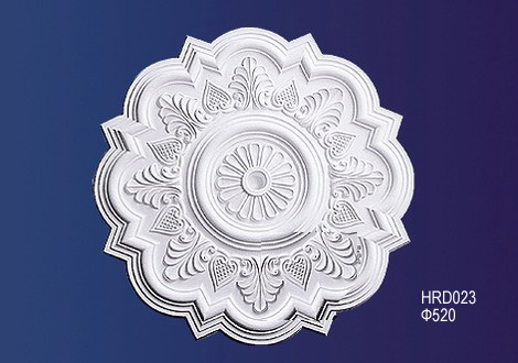 M-312French style Plaster Ceiling Rose