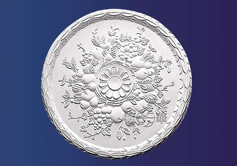 M-322 Decorative-Plaster Ceiling Rose-Gypsums