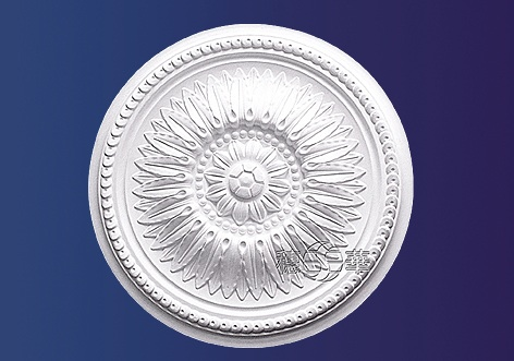 M-326-Large Roped Plaster Ceiling Rose
