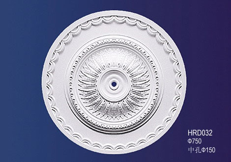 M-328-Large Roped Plaster Ceiling Rose