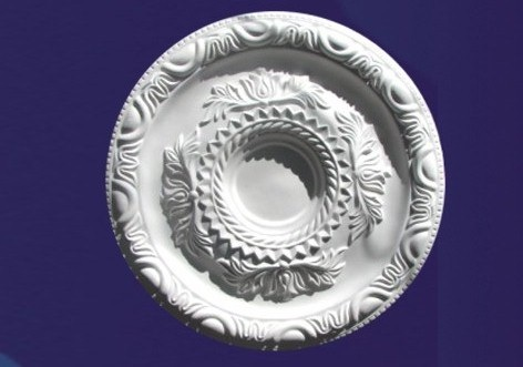 M-332-Large Roped Plaster Ceiling Rose